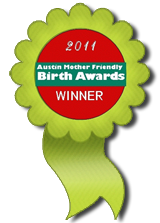 Austin Birth Awards 2011 Winner Ribbon